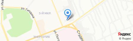 Mustang на карте Братска