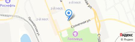Дамский каприз на карте Братска