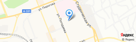 БрГУ на карте Братска