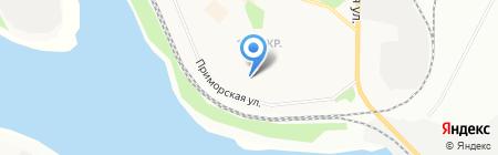 Библиотека русской поэзии им. В.С. Сербского на карте Братска