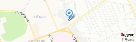 Мастерская кузовного ремонта на карте Братска
