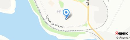 Автоматические ворота+ на карте Братска