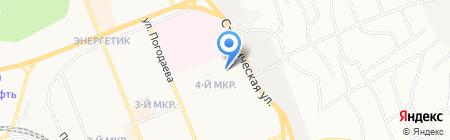 YOTA на карте Братска