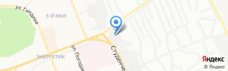 Мастерская по удалению вмятин без покраски на карте Братска