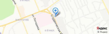 АвтоАзимут на карте Братска