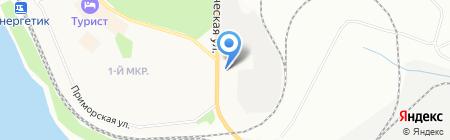 Дирекция городской инфраструктуры г. Братска на карте Братска
