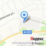 Магазин свежезамороженной продукции на карте Братска
