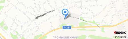 Аида на карте Братска