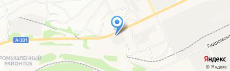 Дилижанс на карте Братска