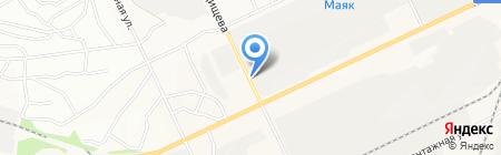 Ателье по пошиву автомобильных чехлов на карте Братска