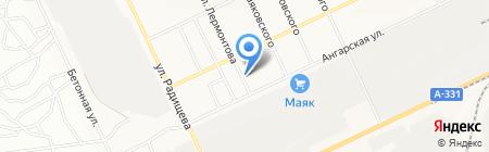 Всё для дома на карте Братска