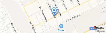 Почтовое отделение №3 на карте Братска