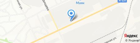 Палитра на карте Братска