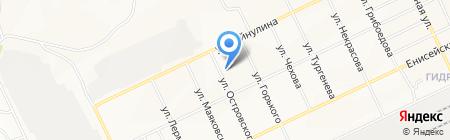 Хозтовары на карте Братска