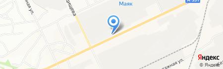 Магазин автозапчастей на карте Братска