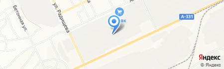 Мэлта на карте Братска