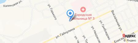 Детский сад №25 на карте Братска