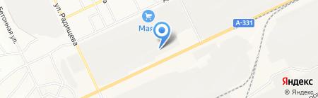 Транс-Транзит-Саха на карте Братска