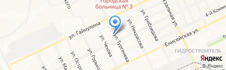 Братская электросетевая компания на карте Братска