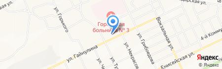 Средняя общеобразовательная школа №19 на карте Братска