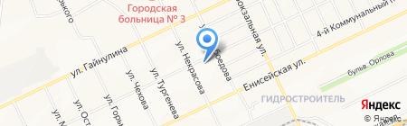 Ёлочка на карте Братска