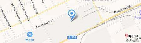 Альтаир на карте Братска
