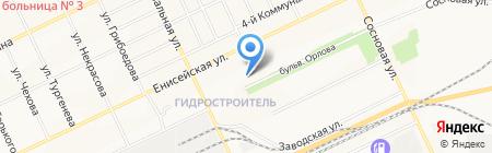Детский сад №106 Одуванчик на карте Братска