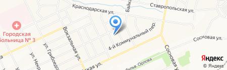 Детский сад №127 на карте Братска