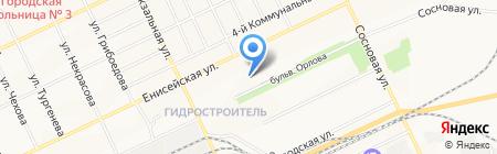 Аптека №93 на карте Братска