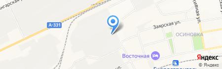 СрубСтрой на карте Братска