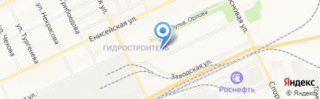 Детский сад №109 Гусельки на карте Братска