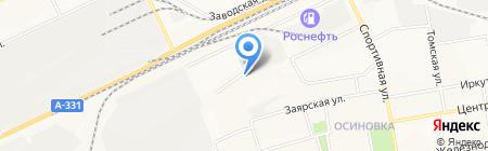 ДАРЫ МОРЯ на карте Братска