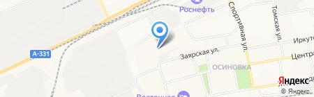 Торговая компания на карте Братска