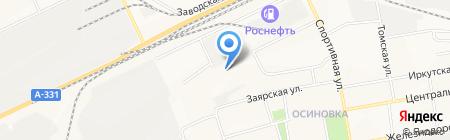 Русич-Маркет на карте Братска