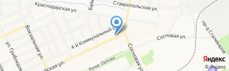 Магазин отделочных материалов на карте Братска