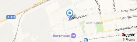 Вита на карте Братска