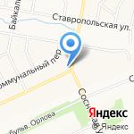 Магазин посуды и бытовой техники на карте Братска