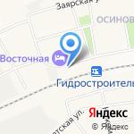 Иркутский государственный университет путей сообщения на карте Братска