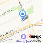 Отдел Управления Федеральной миграционной службы России по Иркутской области в г. Братске и Братском районе на карте Братска