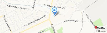 Братский торгово-технологический техникум на карте Братска