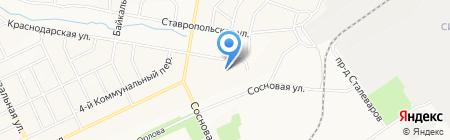 Общежитие на карте Братска