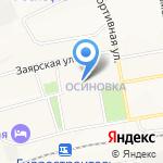 Специальная коррекционная школа-интернат №33 г. Братска на карте Братска