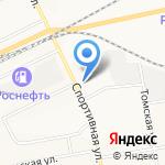 Центр компьютерной поддержки на карте Братска