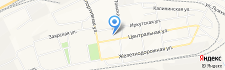 Инженерно-пожарный центр на карте Братска