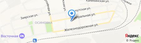ДиП на карте Братска