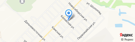 Каховский на карте Братска
