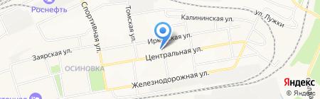 Руслан на карте Братска