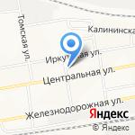 Сантехнический участок №3 на карте Братска