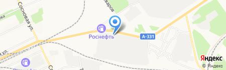 Магазин запчастей для отечественных грузовых автомобилей на карте Братска