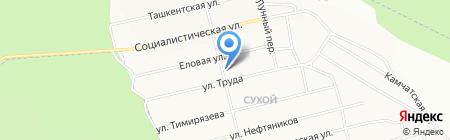 Почтовое отделение №23 на карте Братска